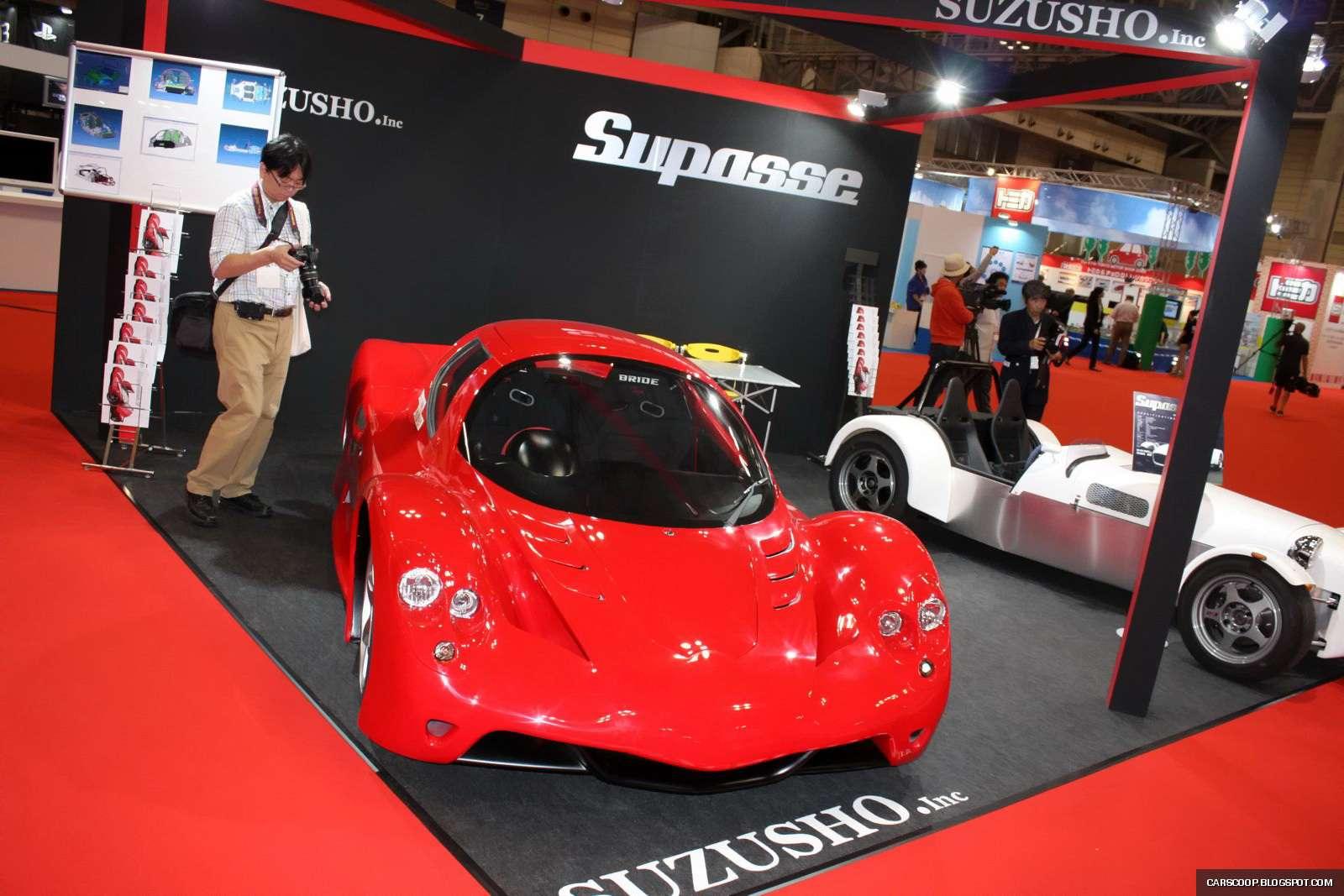 Tokio 2009: Supasse V z silnikiem od Mazdy3