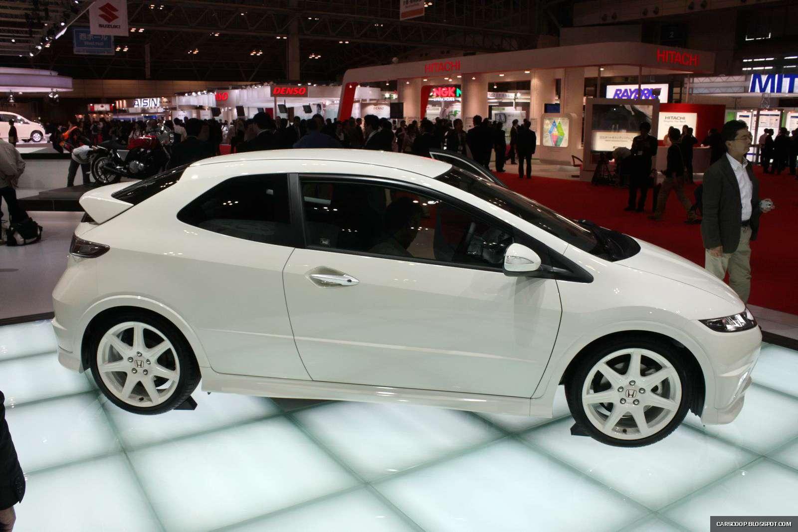 Tokio 2009: Honda Civic Type R Euro