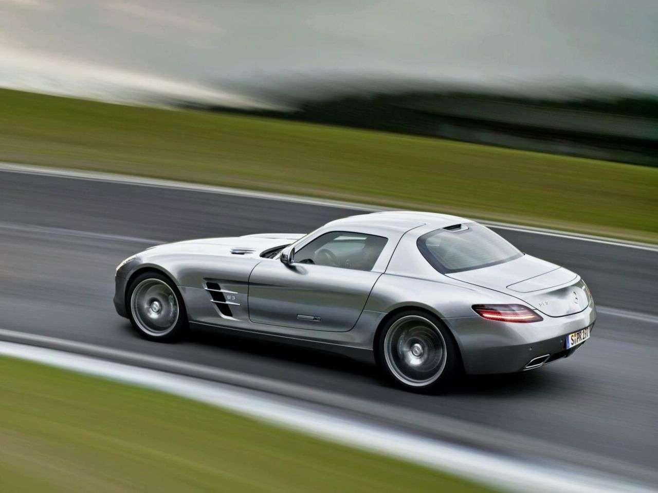 Mercedes SLS new photo 2 2009