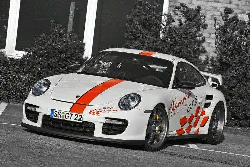Porsche 911 GT2 Wimmer 2009 Essen