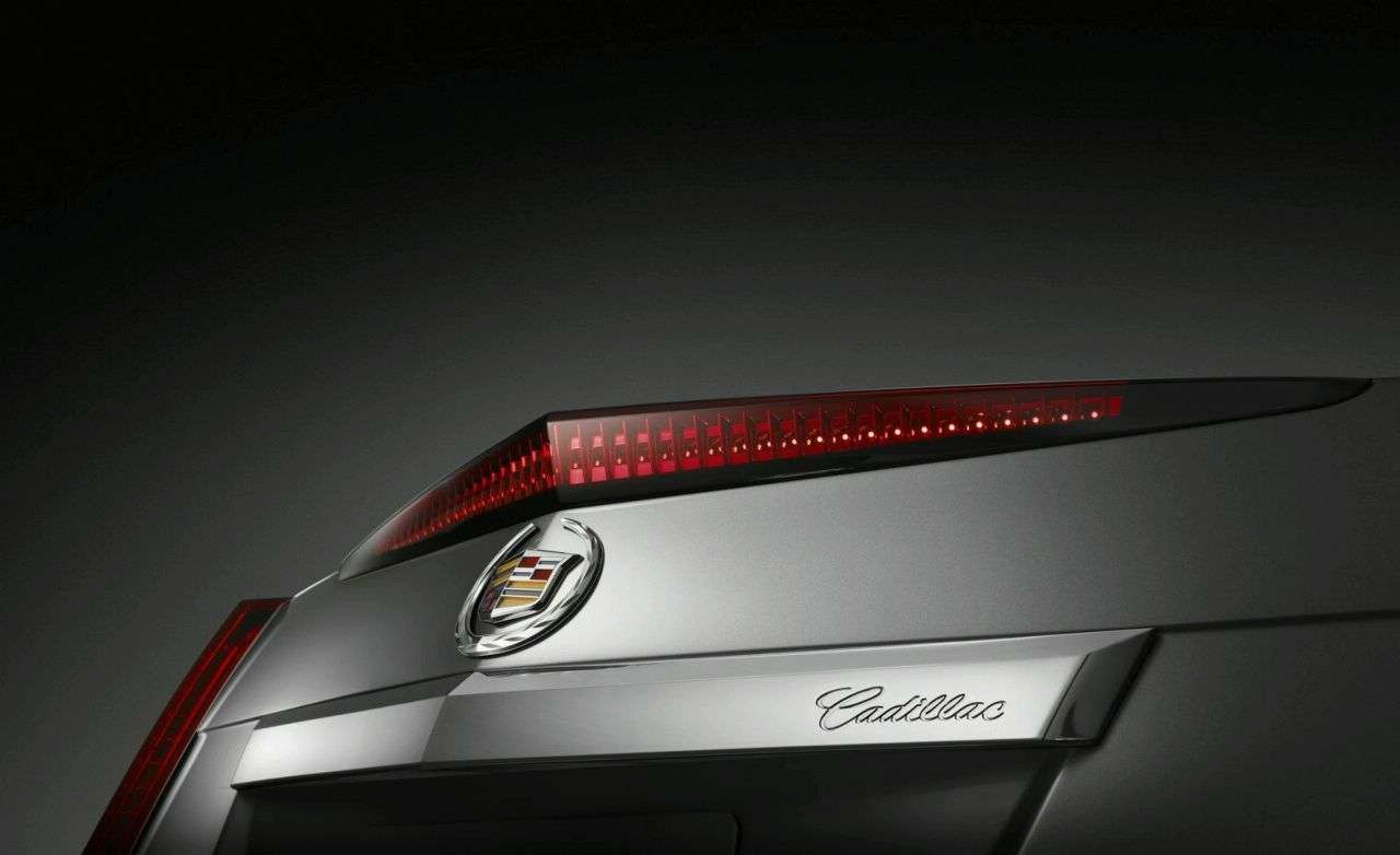 2011 Cadillac CTS Coupe fot 2009