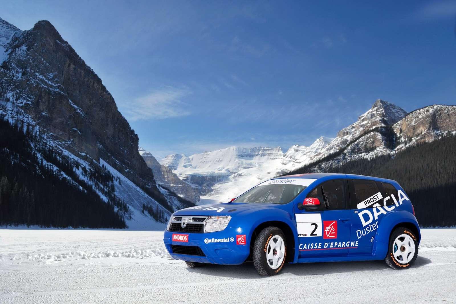 Dacia Duster sniezna edycja 2009 fot