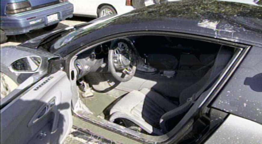 Bugatti Veyron woda 2009 fot