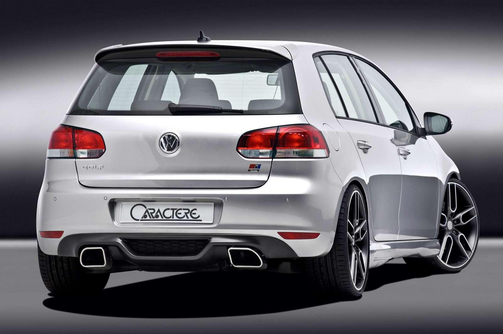 Volkswagen Golf VI od Caractere 2009