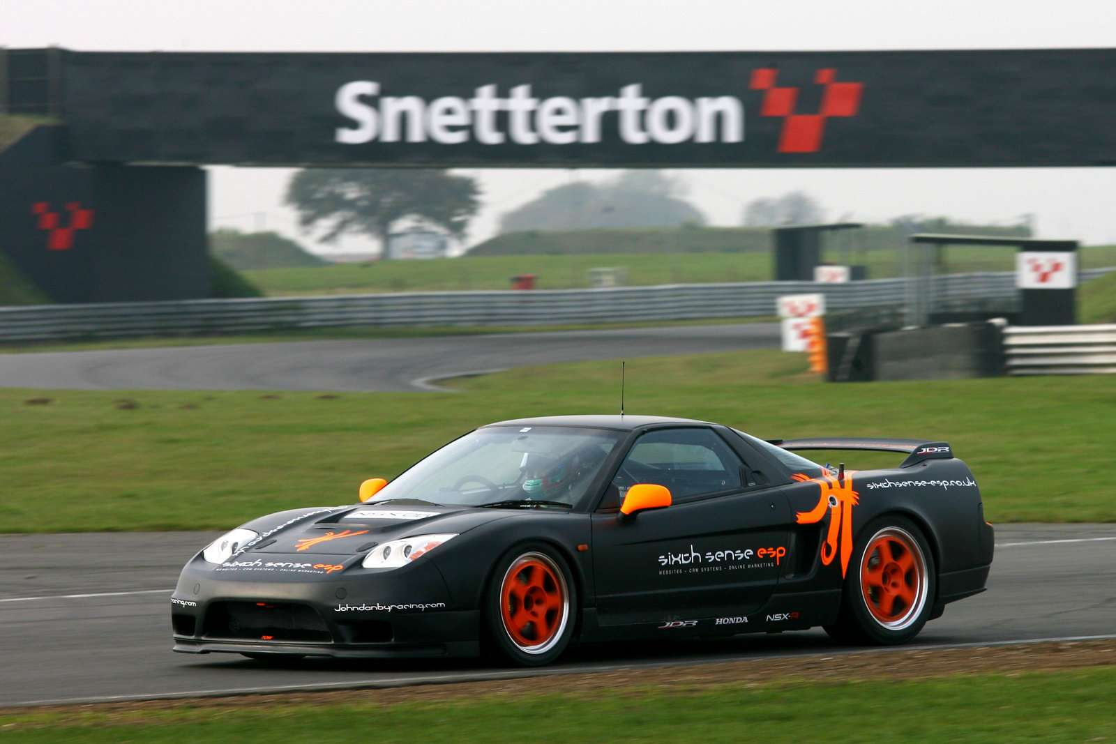 Honda NSX JDB na Britcar Championship 2009