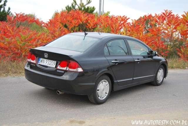Honda Civic Hybrid 1,3 95KM 2009 test