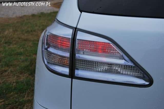 Lexus RX 450h test lawnik maj 2011