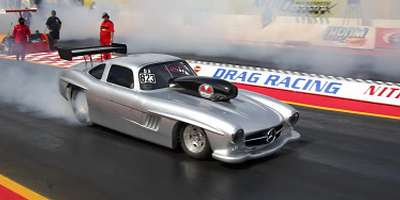 mercedes 300sl gullwing dragstar 3glowne