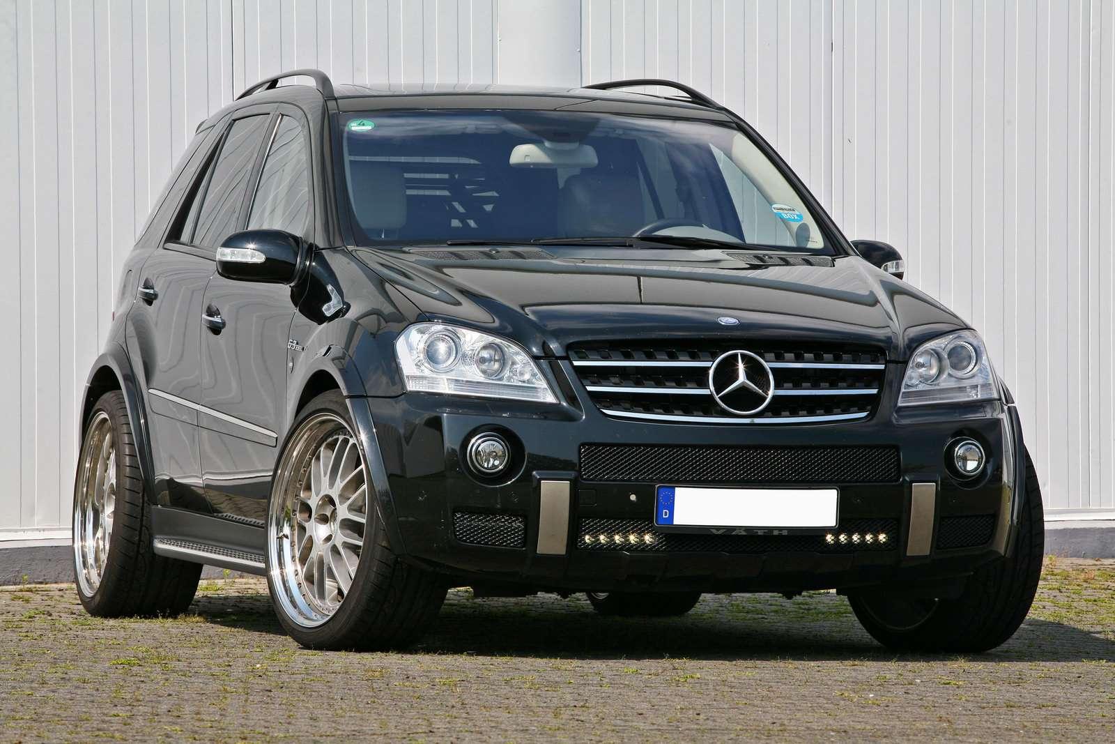 Mercedes ML 63 AMG VATH 2009
