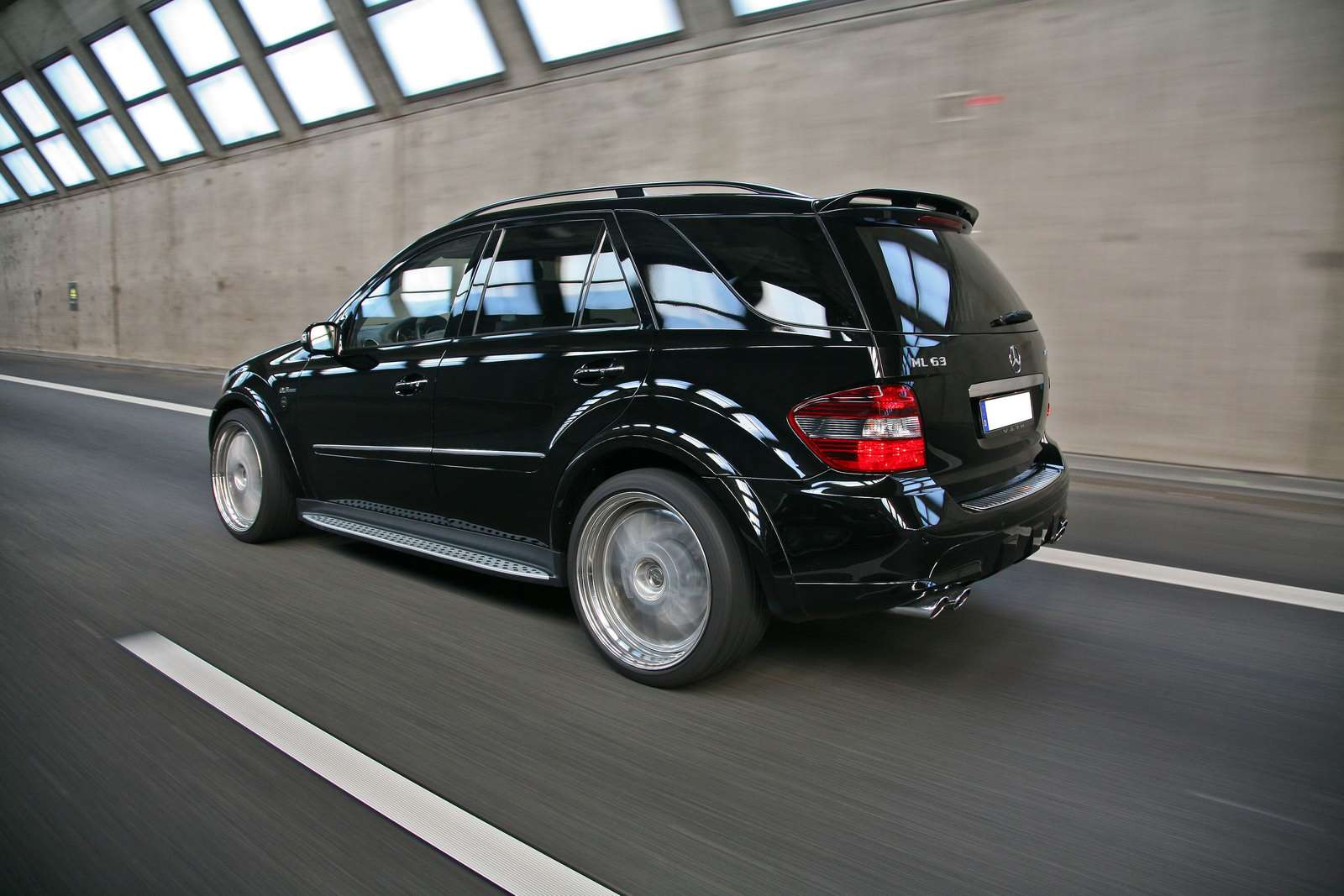 Mercedes ML 63 AMG VATH 2009