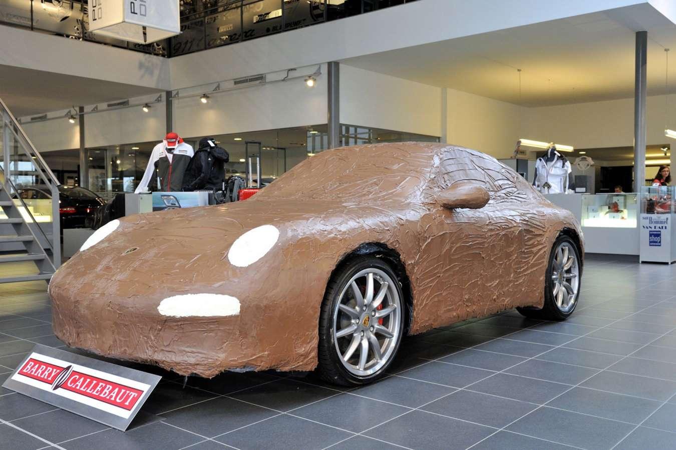 Porsche Carrera S o smaku czekolady 2009