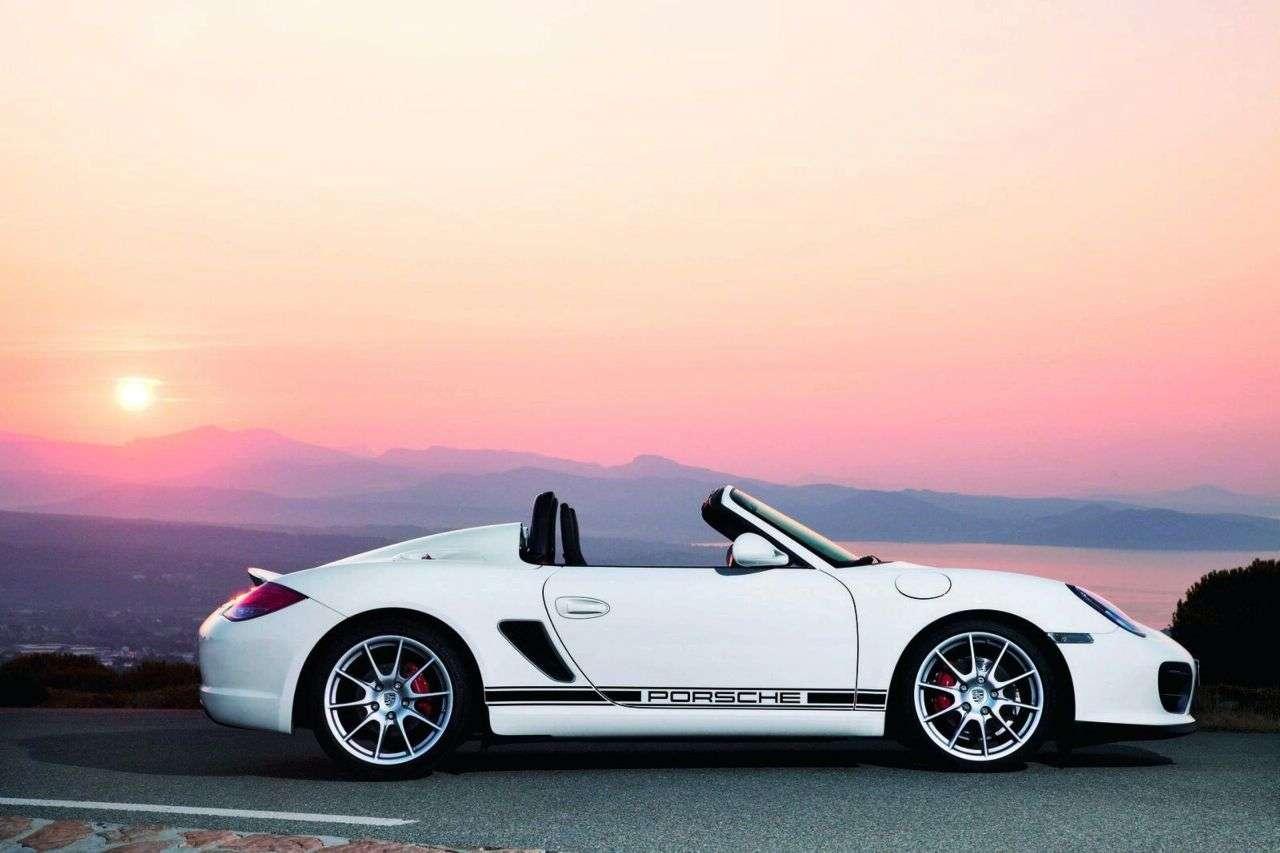 Porsche Boxster Spyder 2009 fot