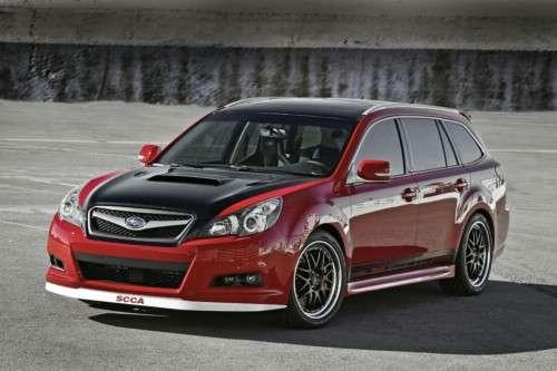 SEMA 2009: Subaru dla szaleńców Legacy GTk