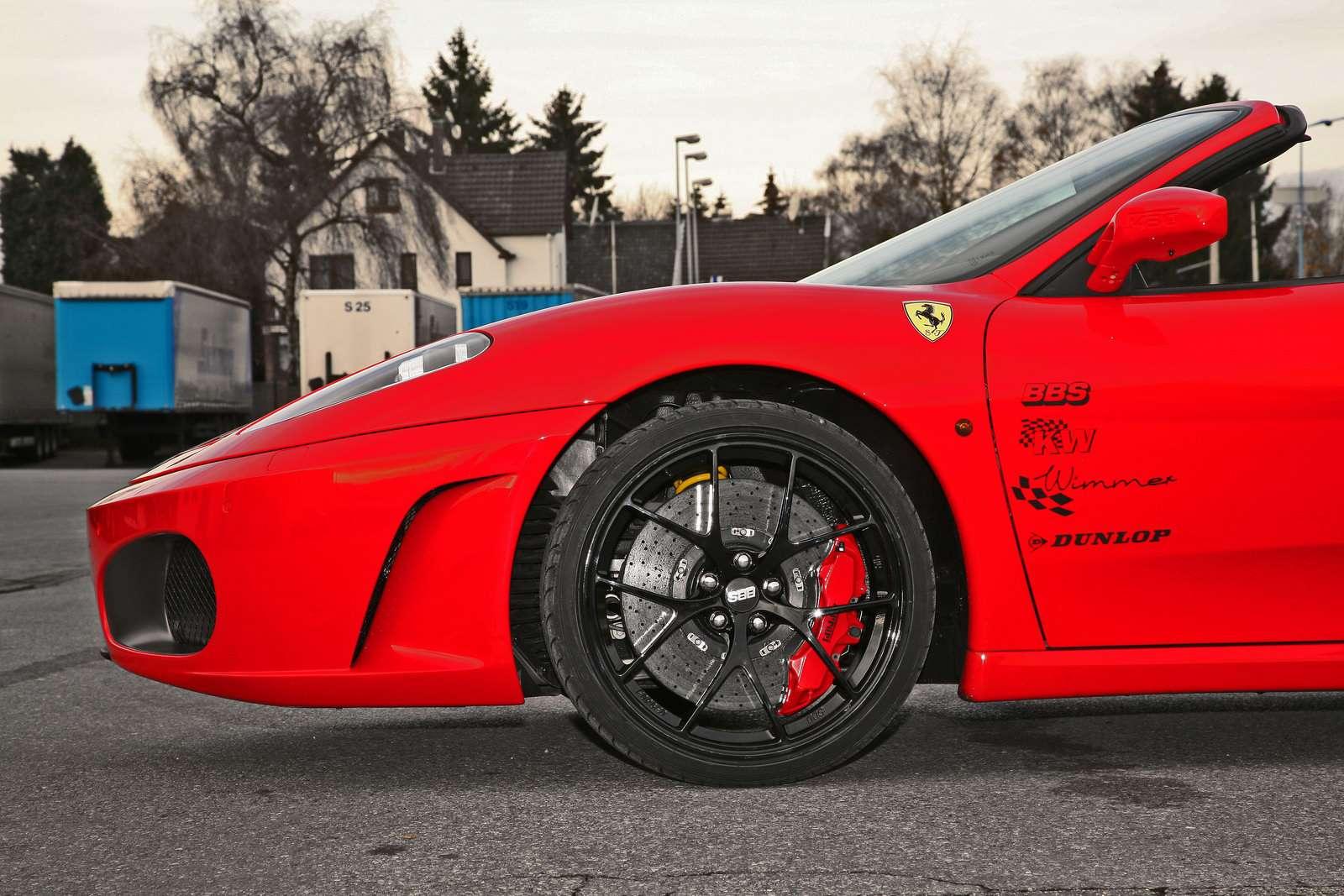 Wimmer RS Ferrari F430 Spider Essen 2009
