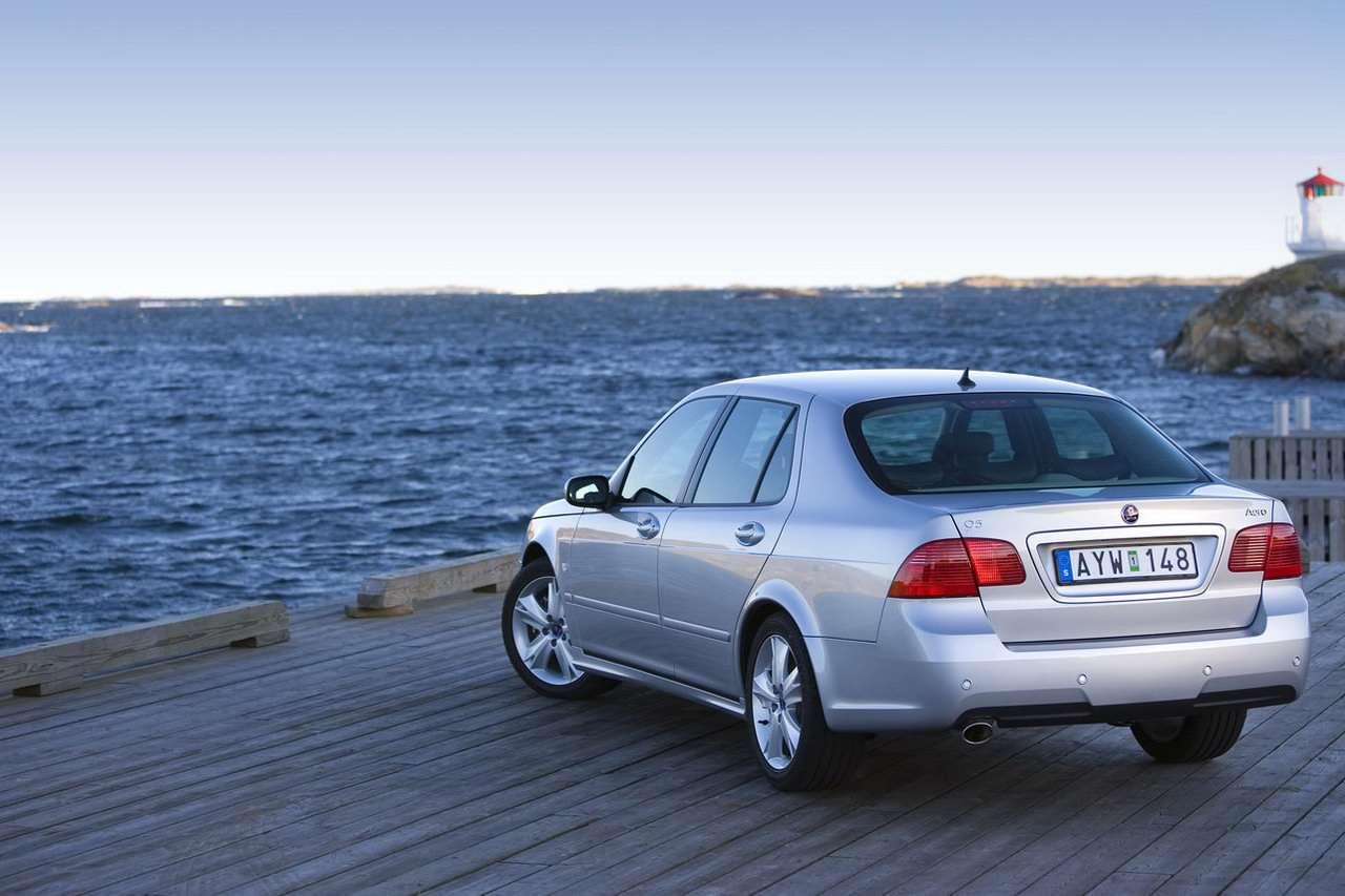 Saab 95 old fot 2009