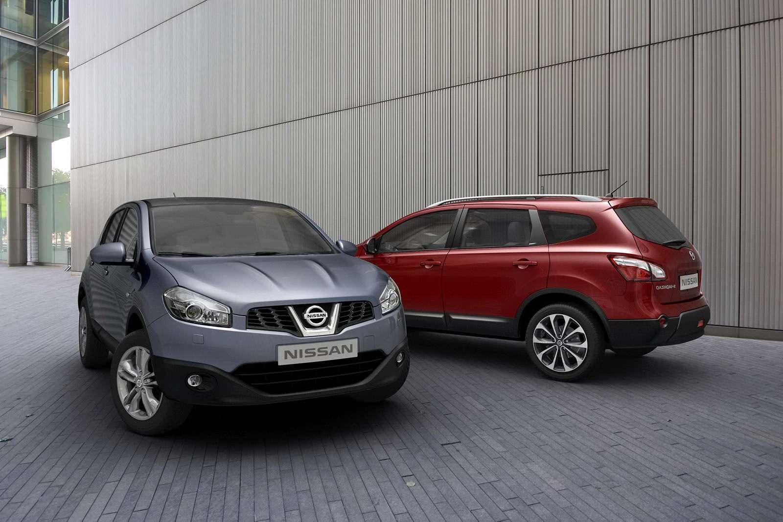 Nissan Qashqai 2010 pierwsze oficjalne zdjecia modelu po faceliftingu 2009