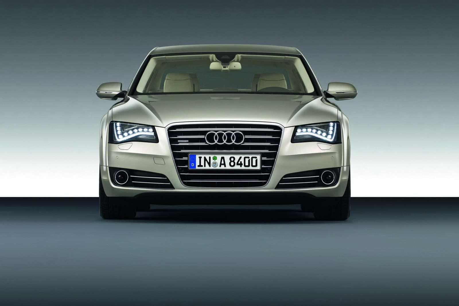Audi A8 2010 oficjalnie zdjecia 2009