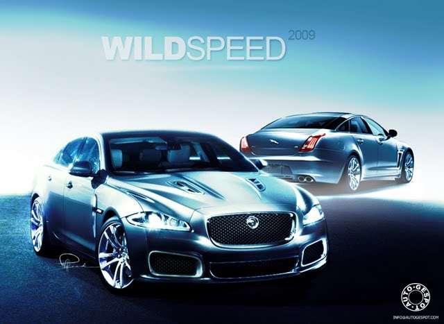 Wizualizacja nowego Jaguara XJR autogespot 2009