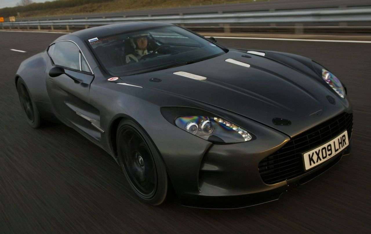 Aston Martin One77 2009 rekord
