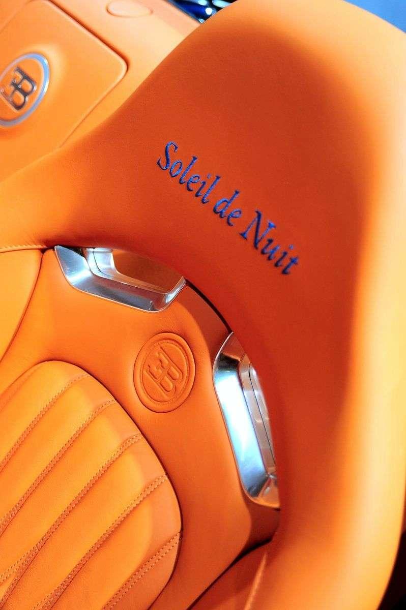 Bugatti specjalnie dla klientow z Bliskiego Wschodu 2009