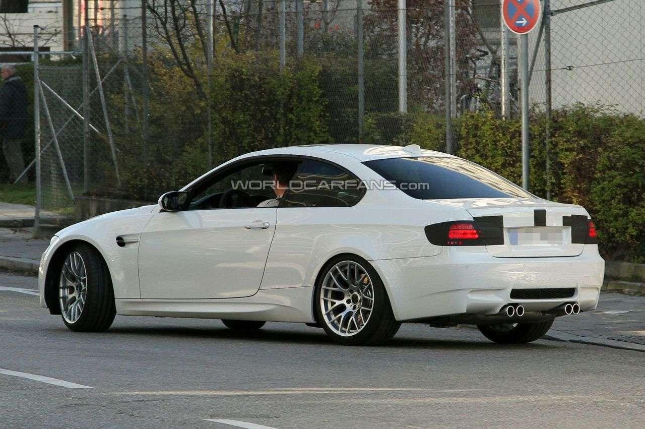 Zmodernizowane BMW M3 fot szpieg WCF 2009