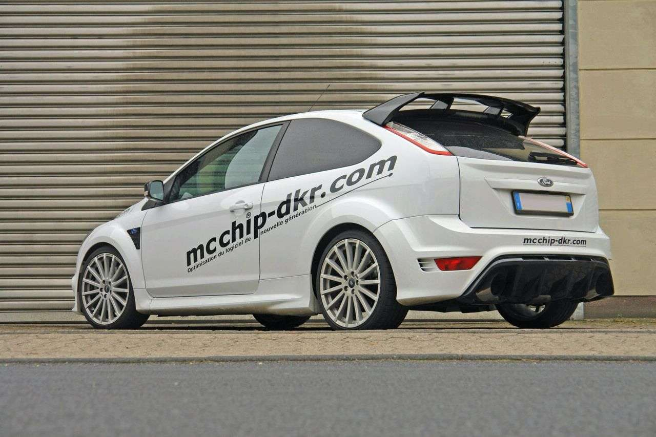 Ford Focus RS o mocy 401 KM od Mcchip 2009
