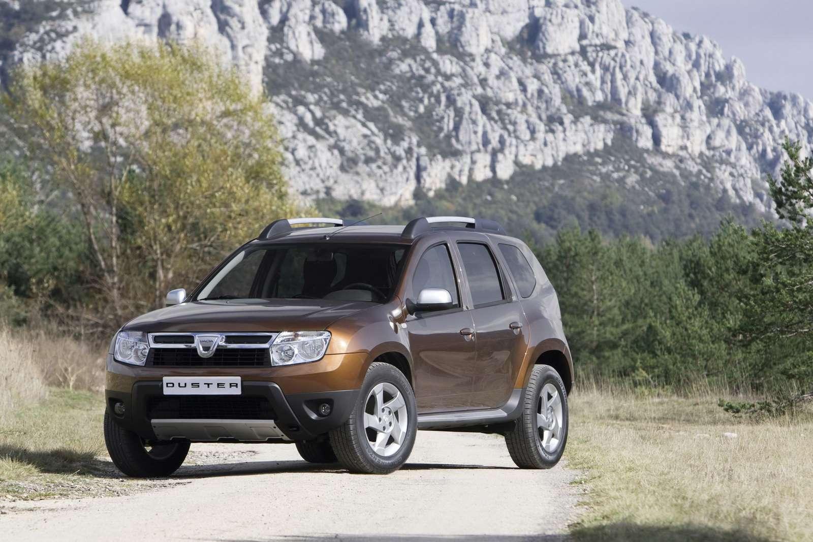 Dacia Duster pierwsze of fot 2009