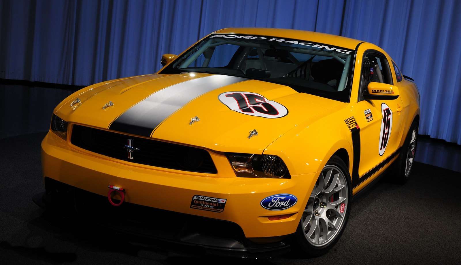 Ford Mustang Boss 302R 2009