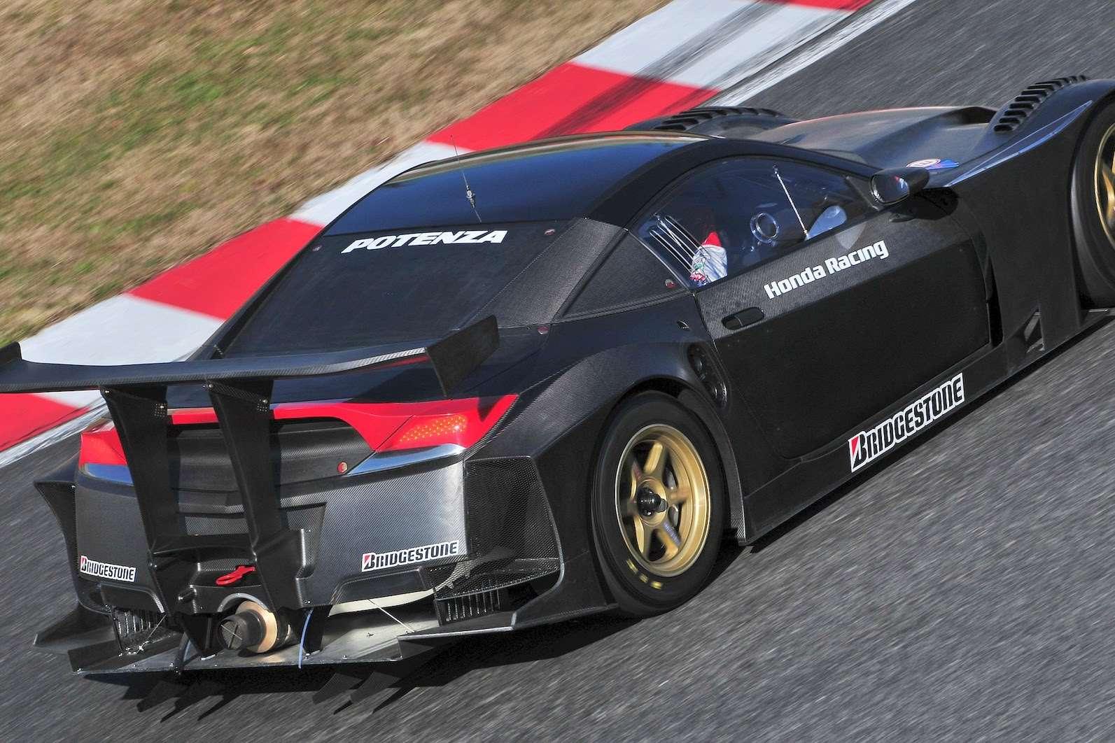 Honda NSX powraca na razie tor 2009