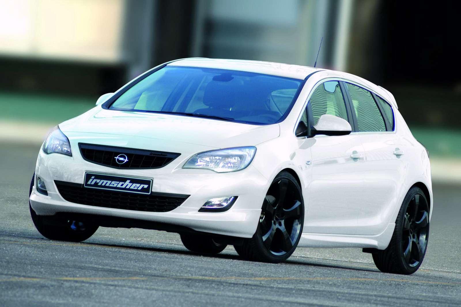 Opel Astra 2010 Irmscher new photo 2009
