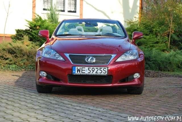 Lexus IS 250C test lawnik maj 2011