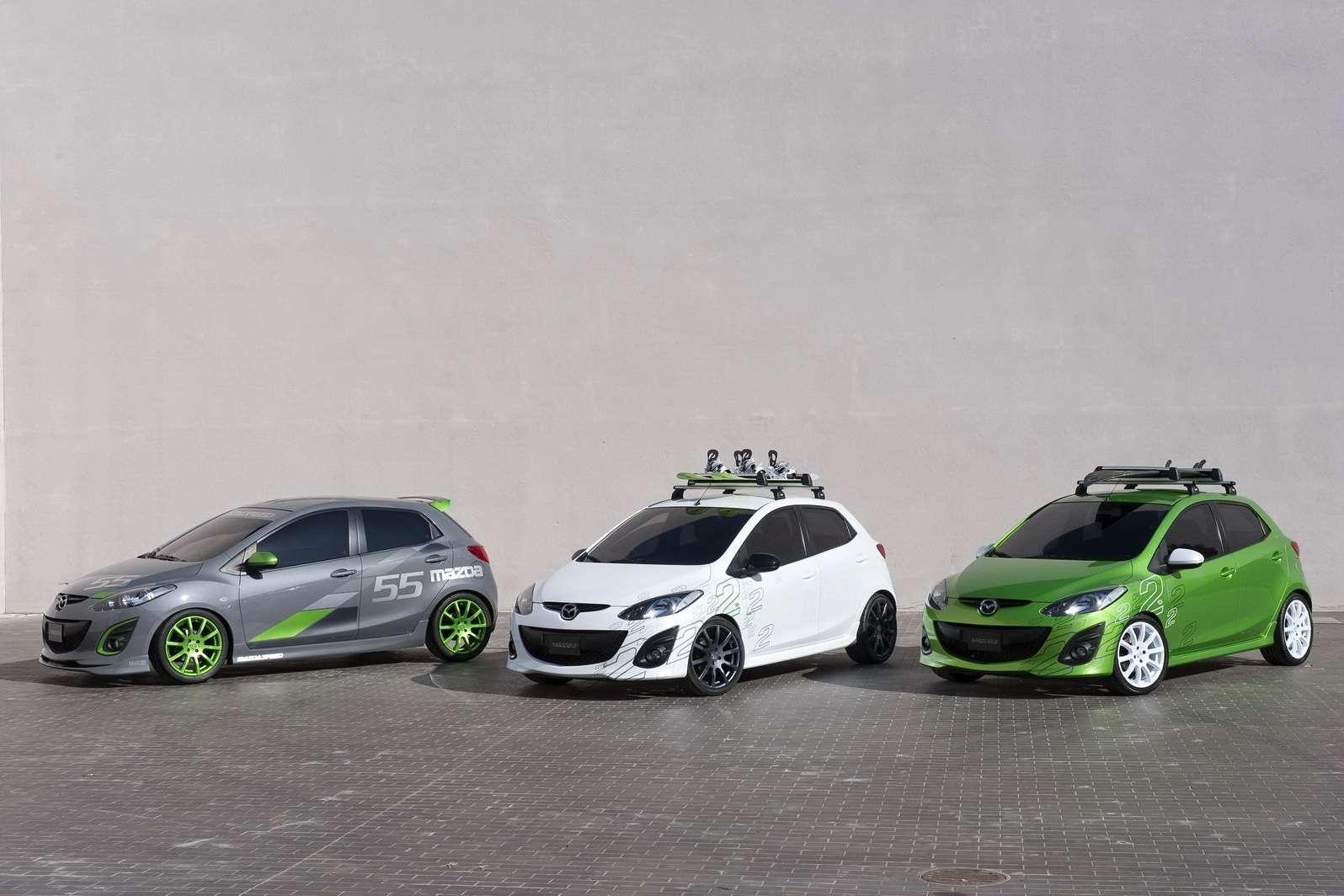 Mazda LA show trio 2009