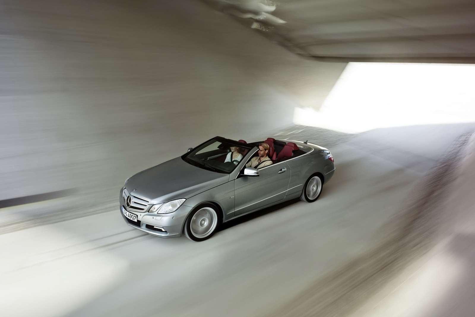 Mercedes E-Class Cabrio 2009