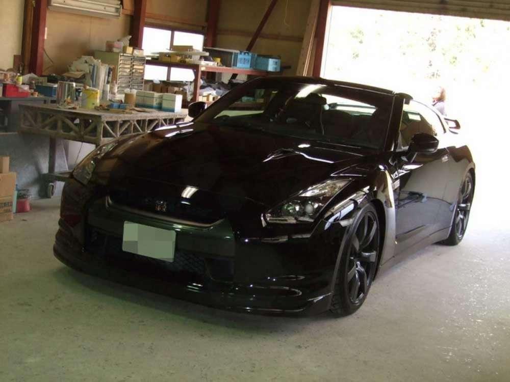 Nissan GTR R35 Original Runduce szkic 2009