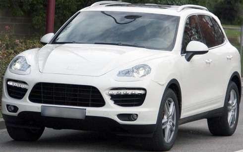 Nowe Porsche Cayenne fot szpieg prawie odkryty 2009