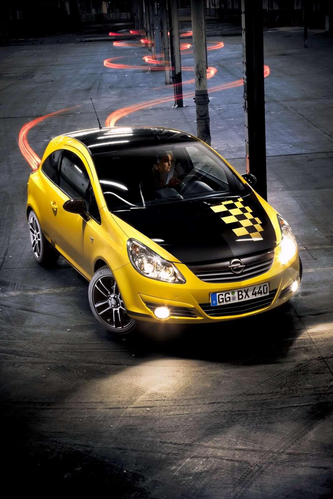 Opel Corsa Color Race 2010