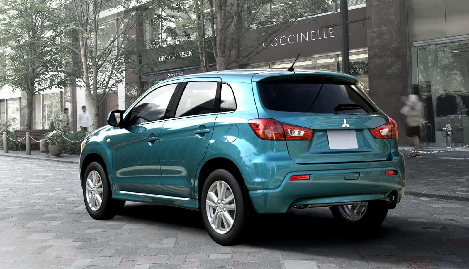 Mitsubishi ASX kompaktowy Crossover 2010