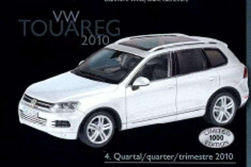 VW Touareg 2011 zabawka 2010