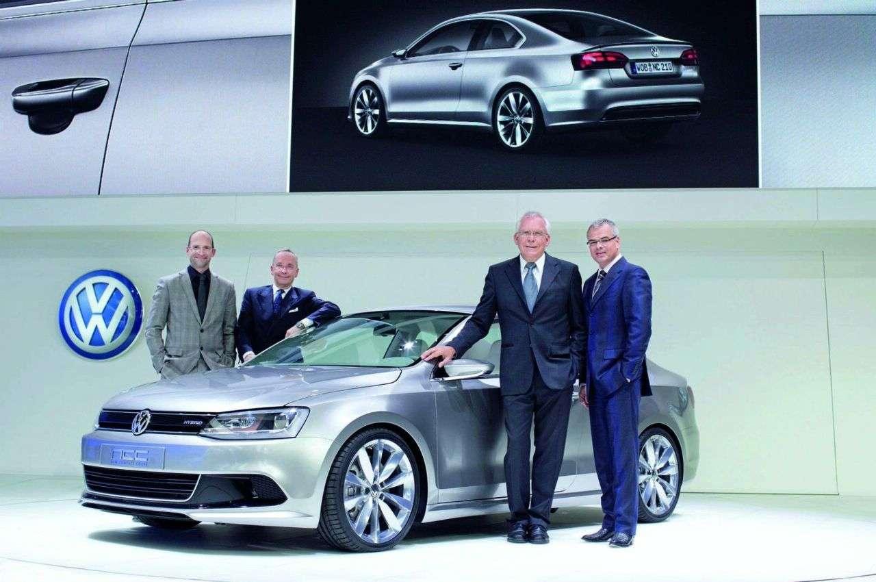 Detroit 2010 Volkswagen Compact Coupe Concept