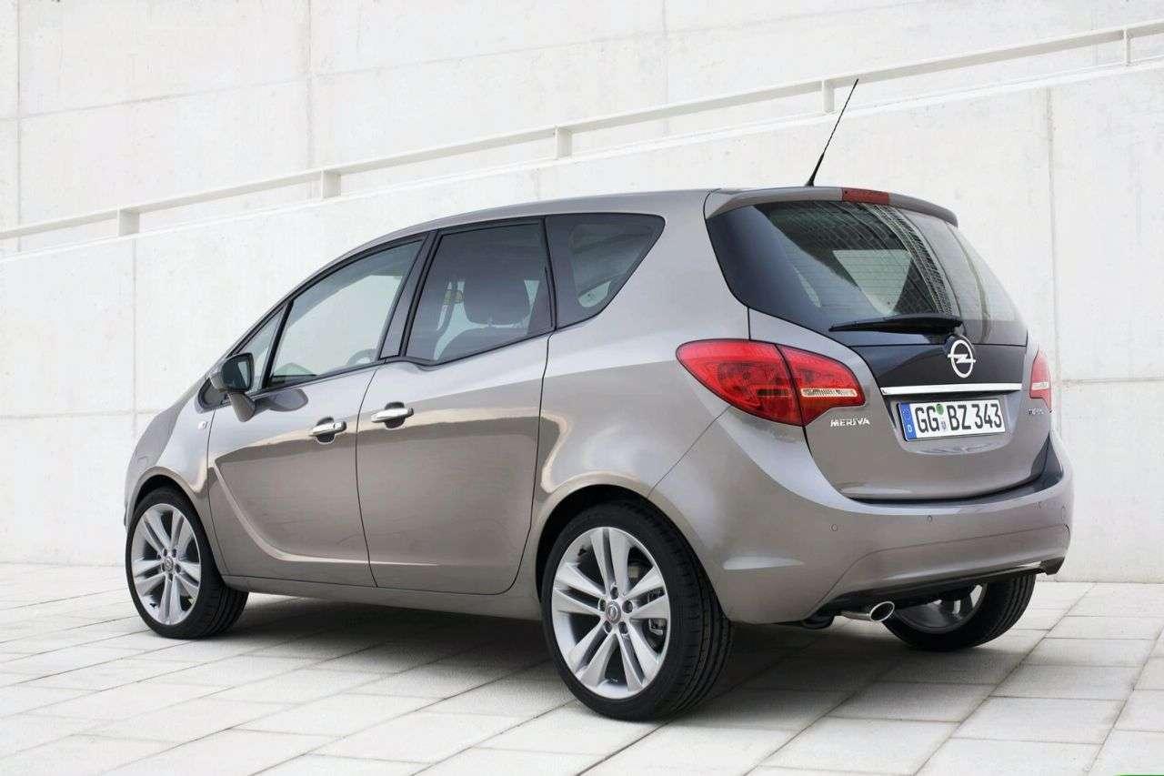 Opel Meriva Zdjęcia Wnętrza Wideo Motofilm Pl