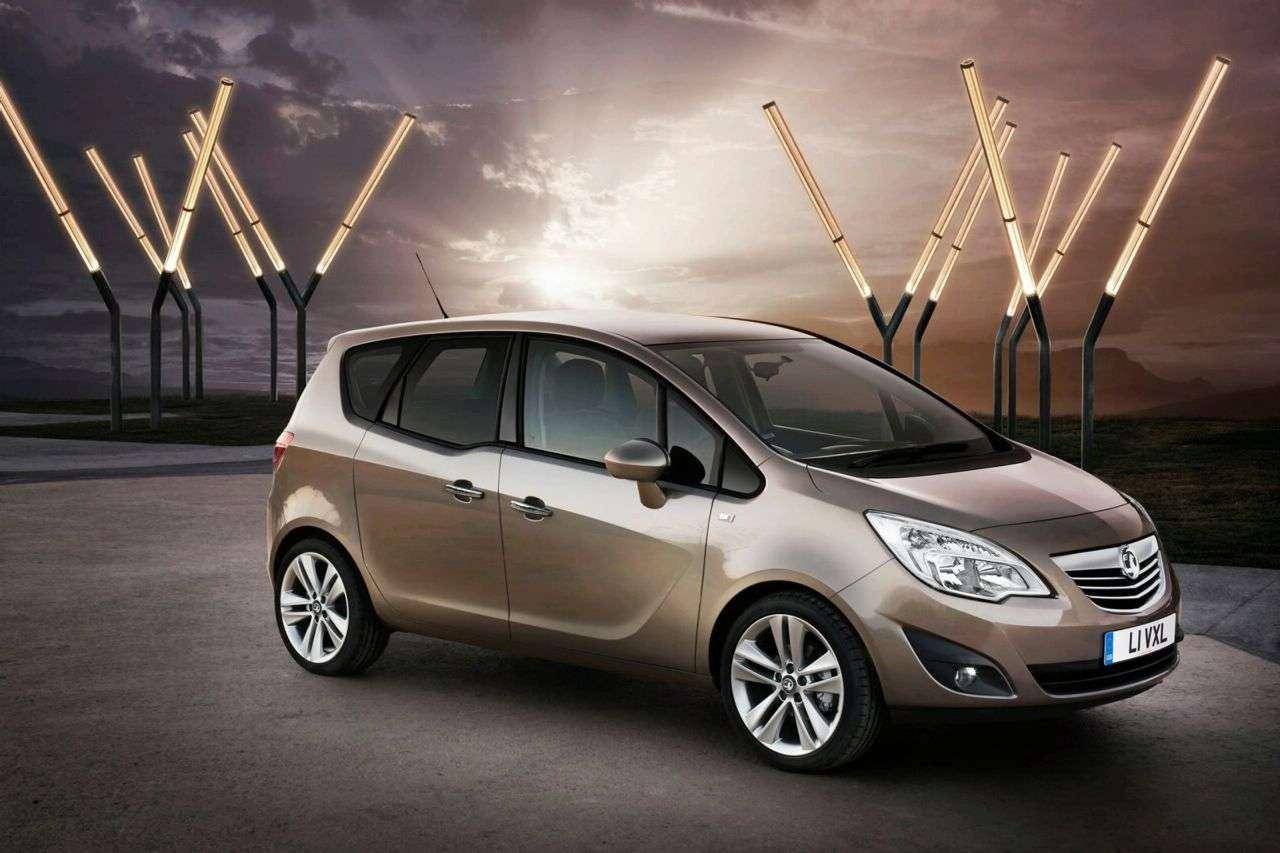 Opel Meriva 2010 fot 2010