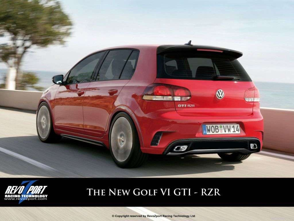 VW Golf VI GTI RZR by RevoZport 2010