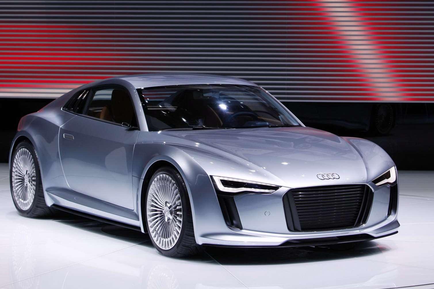 Detroit 2010 Audi e-Tron elektryczny sportowiec