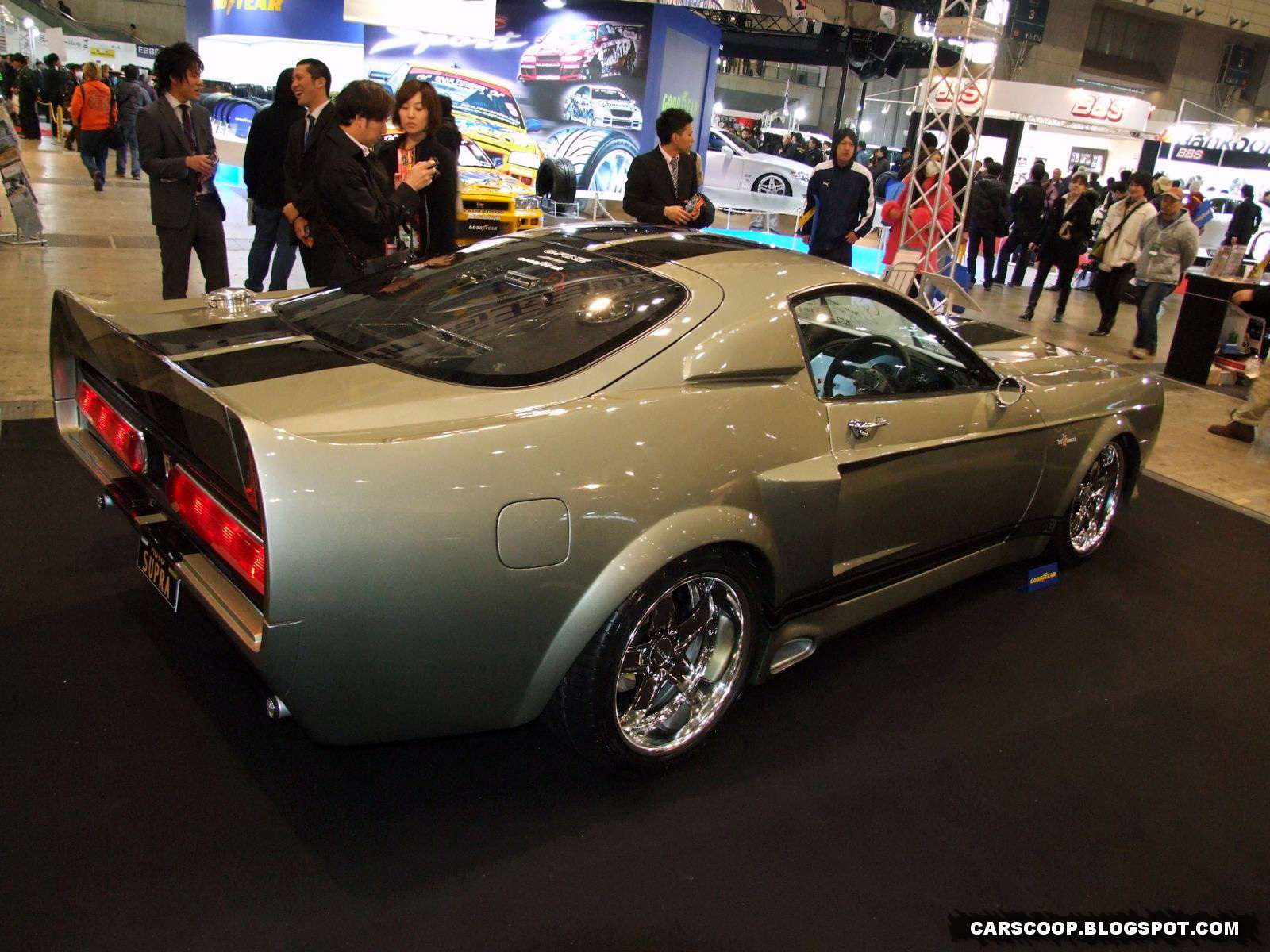 Mustanga Shelby GT500 Eleanor Tokio 2010 replika