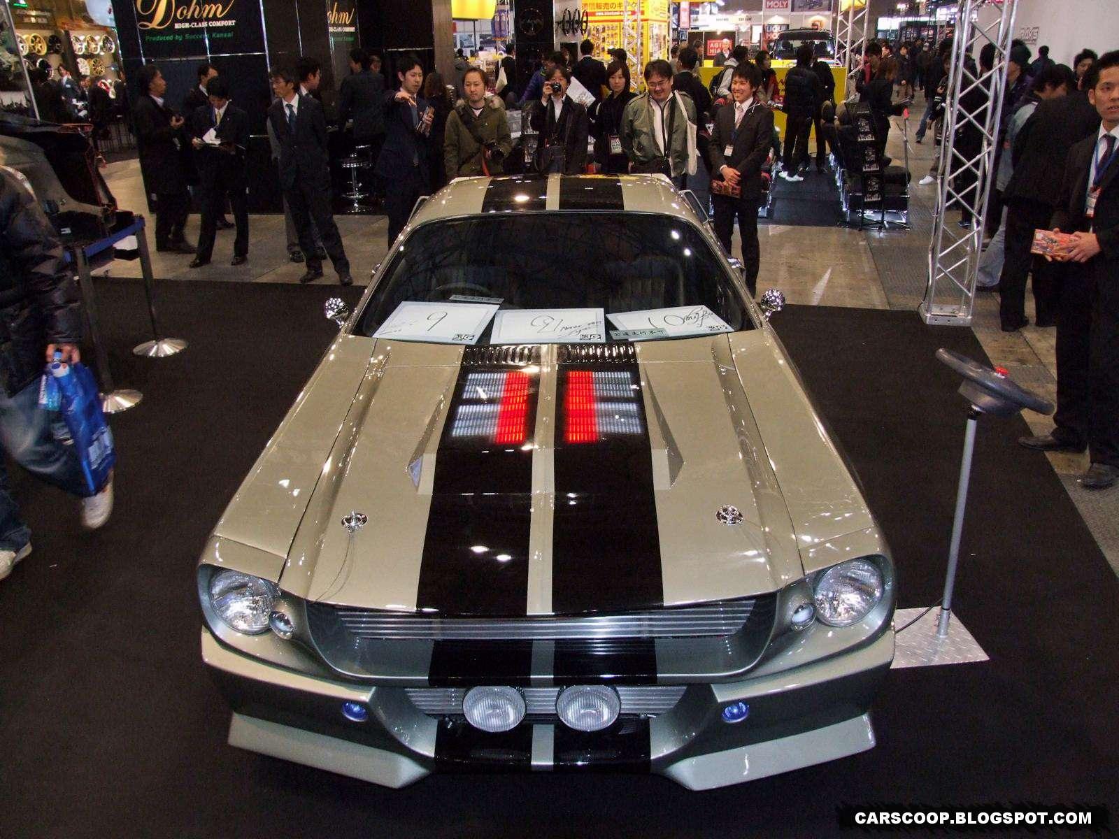 Mustanga Shelby GT500 Eleanor Tokio 2010 replika
