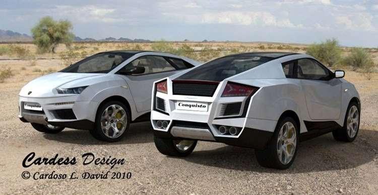 Lamborghini Conquisto projekt belgia 2010