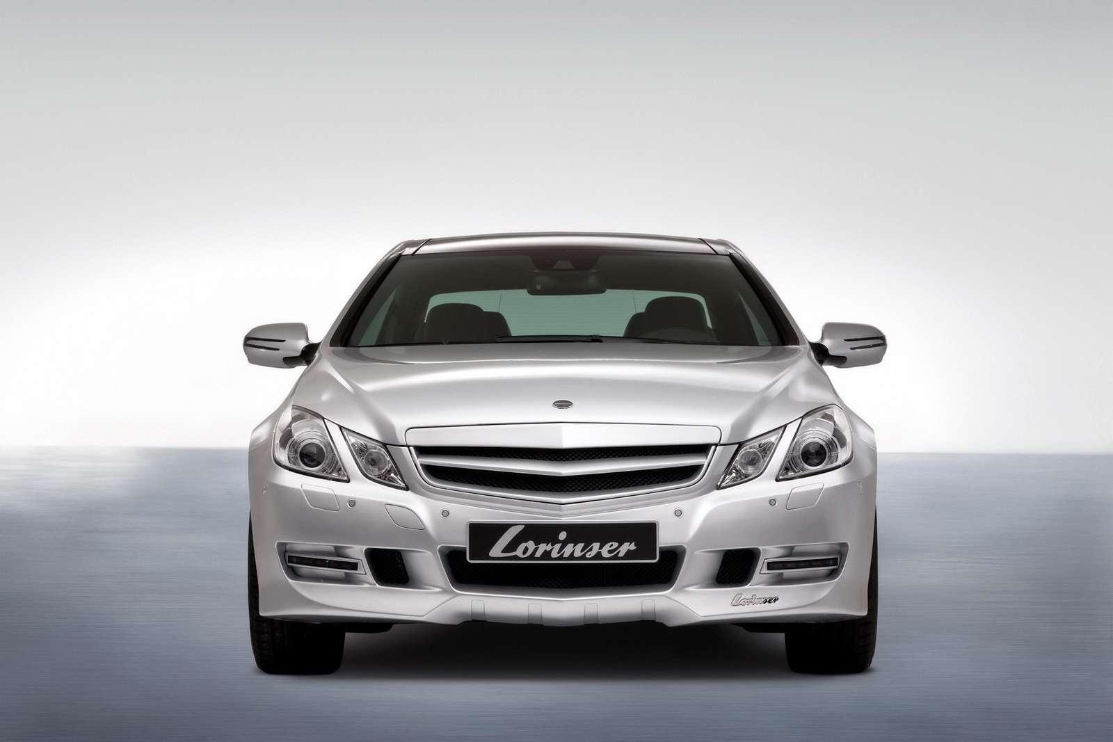 Mercedes E Coupe Lorinser 2010