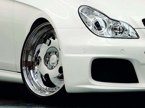 Mercedes CLS 55 AMG Wheelsandmore 2010