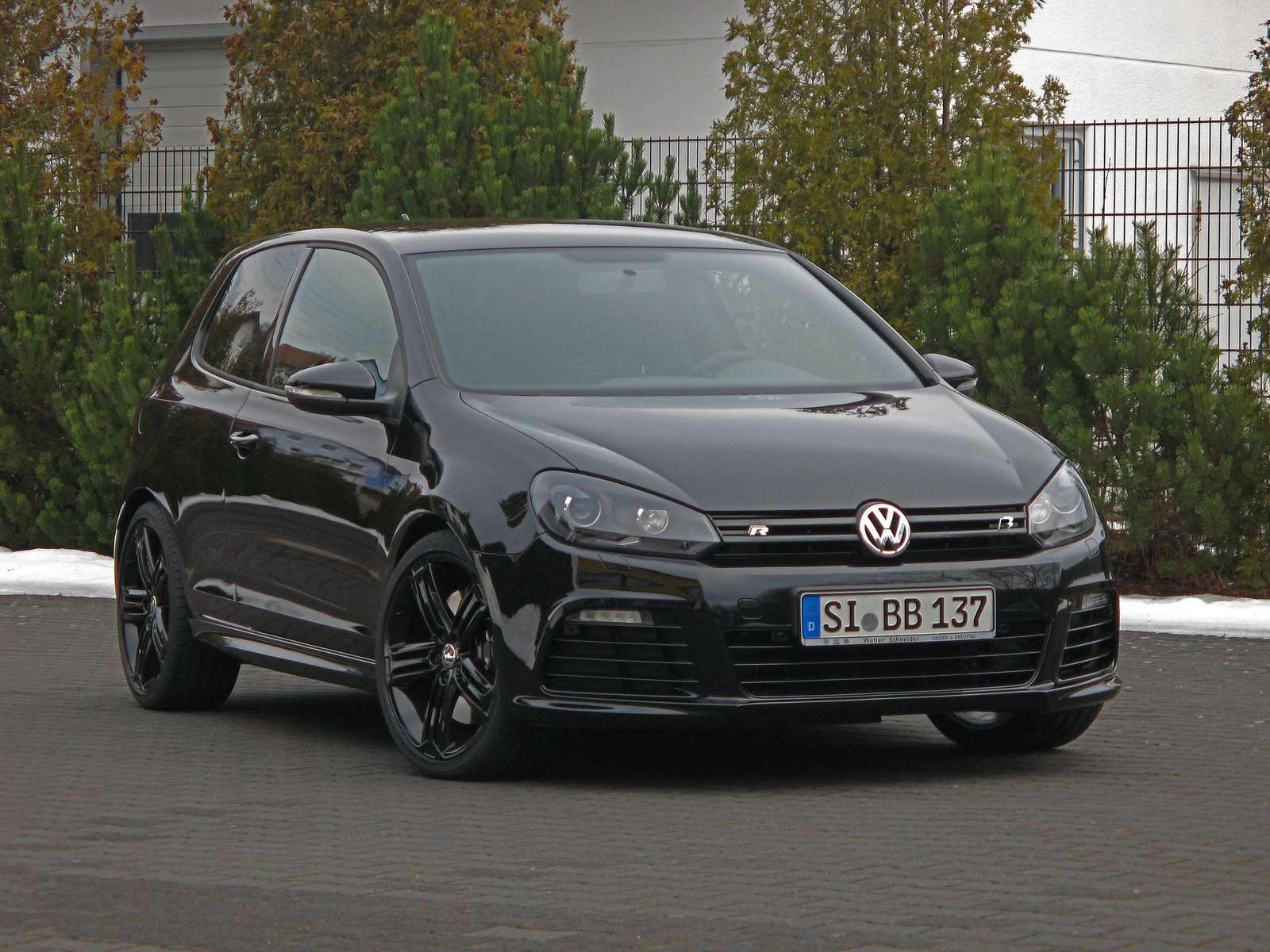 Volkswagen Golf R od BB 2010