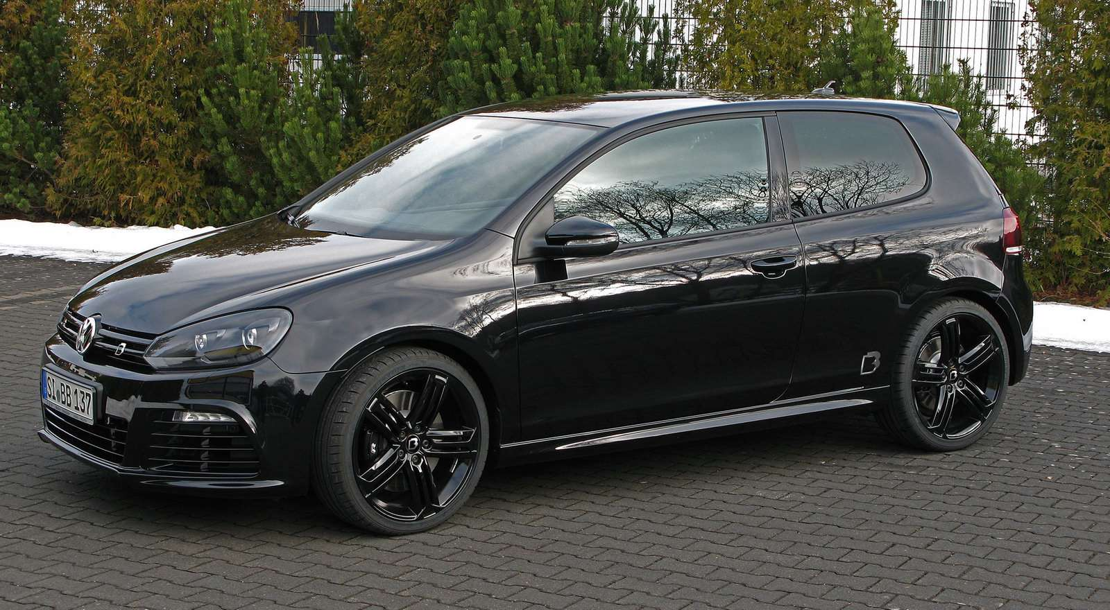 Volkswagen Golf R od BB 2010